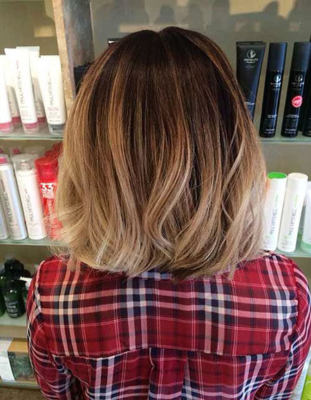 Popular-Balayage-Hair-Color-Ideas-016-ohfree.net_ Popular Balayage Hair Color Ideas for Short Hair