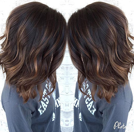 Popular-Balayage-Hair-Color-Ideas-018-ohfree.net_ Popular Balayage Hair Color Ideas for Short Hair