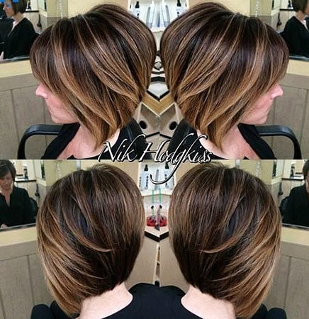Popular-Balayage-Hair-Color-Ideas-020-ohfree.net_ Popular Balayage Hair Color Ideas for Short Hair