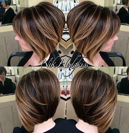 Popular-Balayage-Hair-Color-Ideas-020-ohfree.net_ Popular Balayage Hair Color Ideas for Short Hair