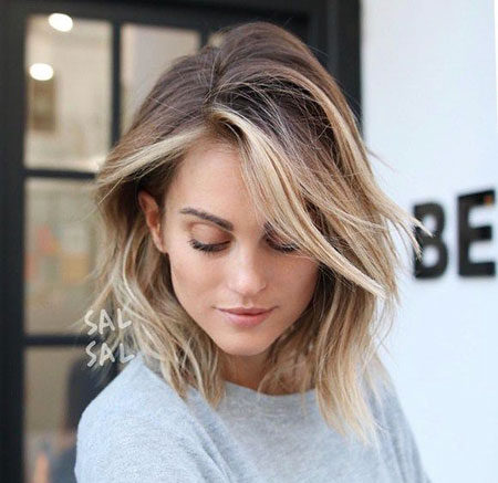 Popular-Balayage-Hair-Color-Ideas-022-ohfree.net_ Popular Balayage Hair Color Ideas for Short Hair