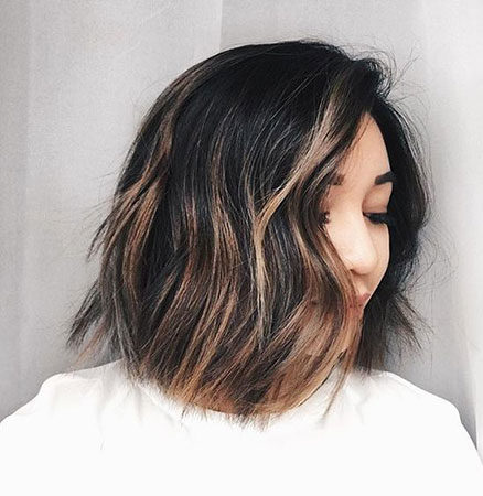 Popular-Balayage-Hair-Color-Ideas-023-ohfree.net_ Popular Balayage Hair Color Ideas for Short Hair