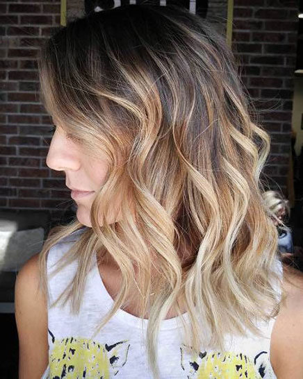 Popular-Balayage-Hair-Color-Ideas-027-ohfree.net_ Popular Balayage Hair Color Ideas for Short Hair
