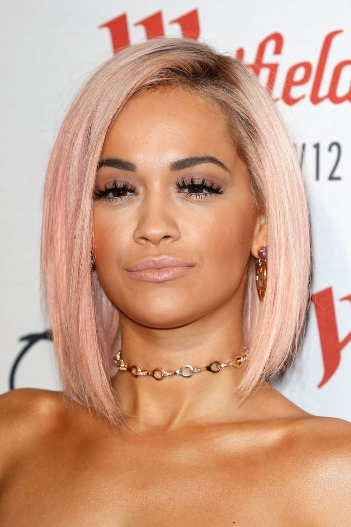 Rose-Quartz Hottest Trendy Hair Colors You're Going to See Everywhere in 2020