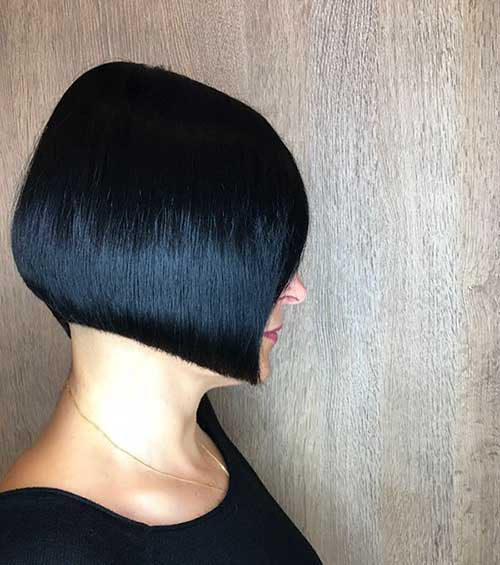 Short-Black-Bob-for-Women Super Short Haircuts for Women
