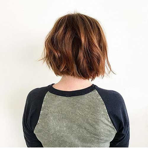 Short-Brown-Bob-Hair Super Short Haircuts for Women