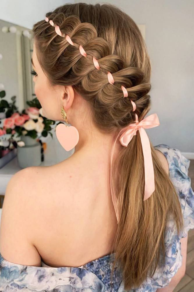 Side-Braided-Ponytail Braids Hairstyles 2020 for Ultra Stylish Looks