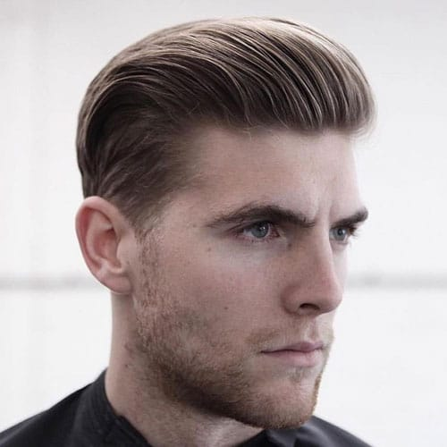 Slicked-Back 10 Best hairstyles for men with thick hair 2020