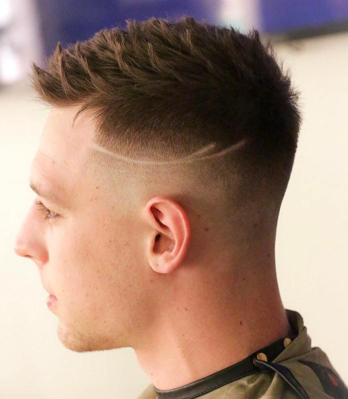 Spiky-Razor-Cut Most Trendy Looks of Short Fade Haircuts