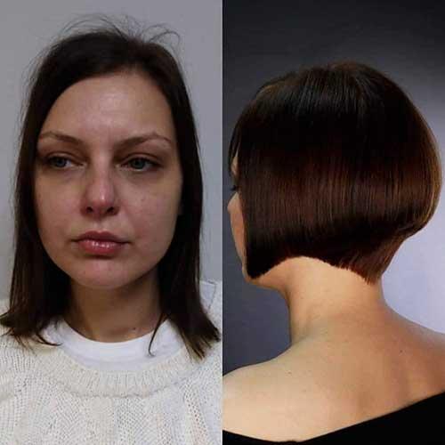 Voluminious-Bob-Style Super Short Haircuts for Women