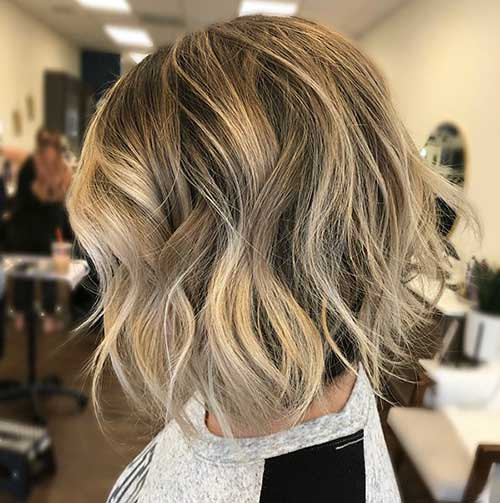 Wavy-Short-Haircut-for-Older-Women Super Short Haircuts for Women