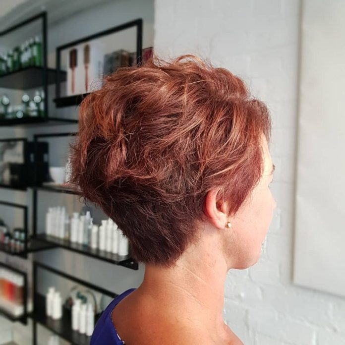 gorgeous-and-textured 10 youthful and stylish short hairstyles for women over 40
