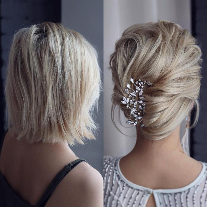 A-very-short-and-layered-haircut 20 Eye-catching Updo Hairstyles To Make Your Day