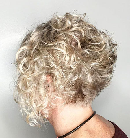 Blonde-Low-Maintenance-Curls Best Short Curly Hairstyles for Women Over 50