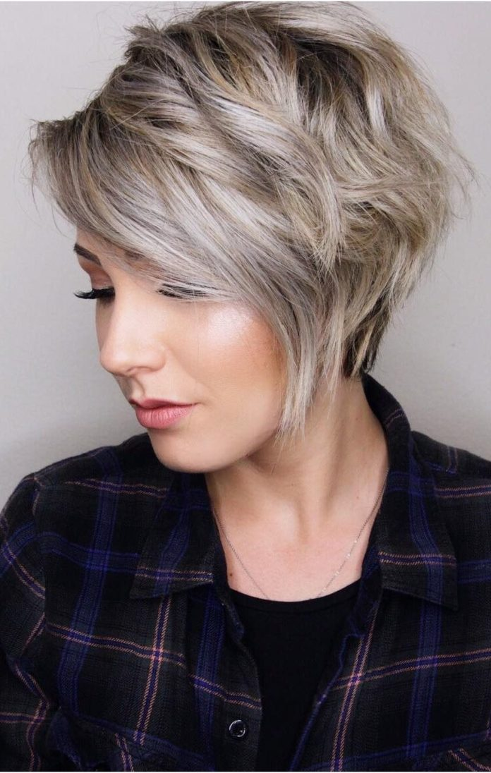 Blonde-Short-Pixie-Cut 20 Short Layered Hairstyles to Look Beautiful