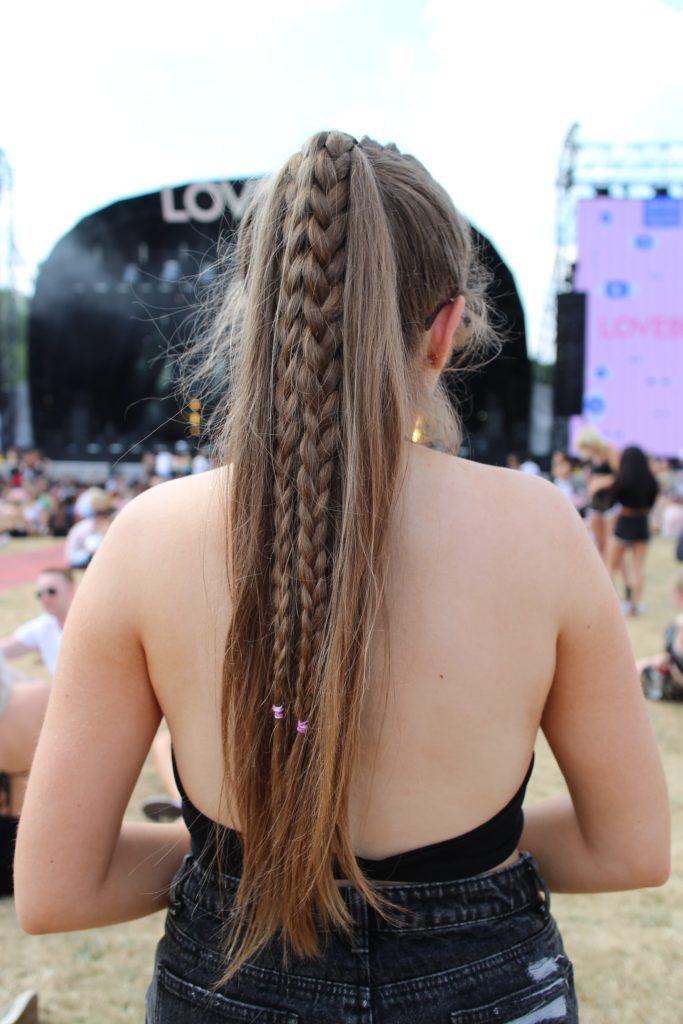 Braided-Pony-Hairstyle- 25 Festival Hairstyles to Enhance Your Appearance