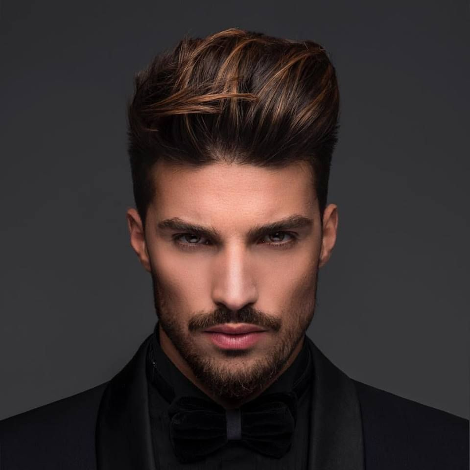 Chocolate-Highlights-for-Men 20 Hair Color for Men to Look Ultra Stylish