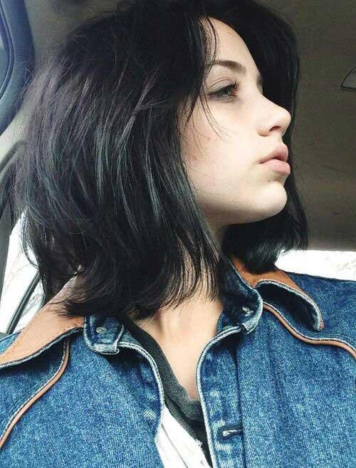 Emily-Rudd-Short-Hair Best Short Layered Haircuts for Women
