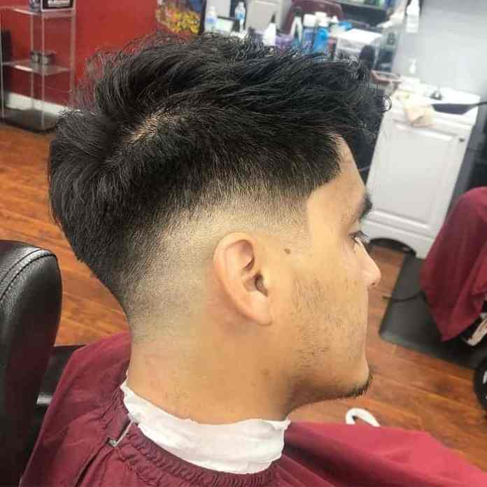 Faux-High-Drop-Fade-Haircut Drop Fade Haircut for an Ultimate Stylish Look