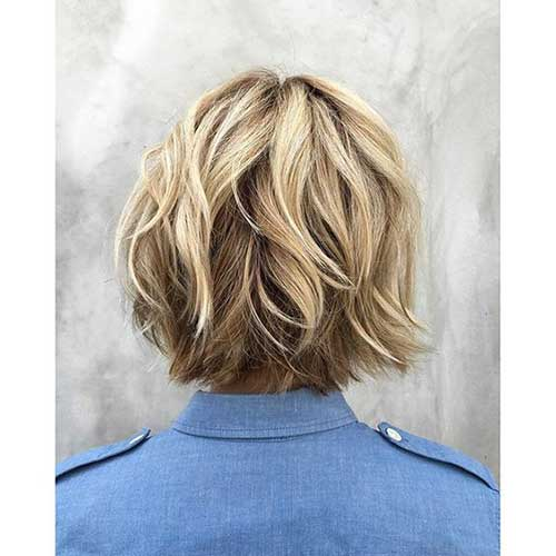 Layered-Choppy-Bob-for-Fine-Hair Best Short Layered Haircuts for Women