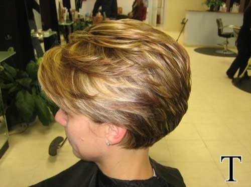 Layered-Short-Haircut-for-Older-Women Best Short Layered Haircuts for Women