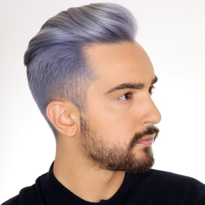 Light-Purple-Hair-Color 20 Hair Color for Men to Look Ultra Stylish