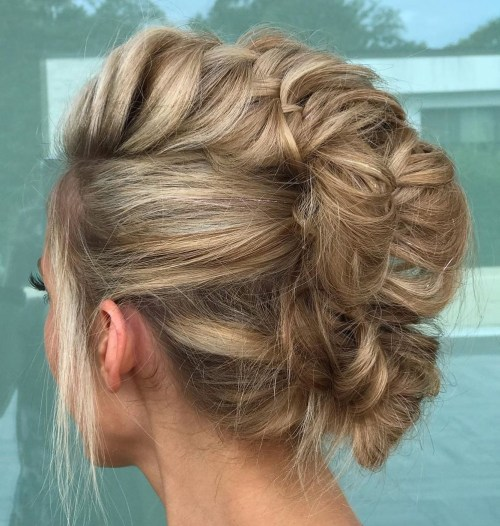 Messy-Fishtail-Braid 15 Fabulous Hairstyles for Fine Hair