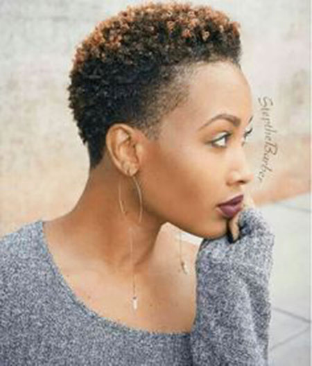 Natural-Hairstyle-for-Black-Women 33 Short Curly Natural Hairstyles for Black Women