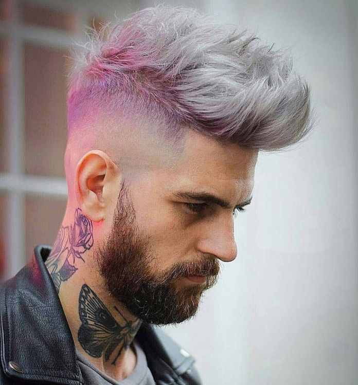 Pink-Hairstyle-for-Men 20 Hair Color for Men to Look Ultra Stylish