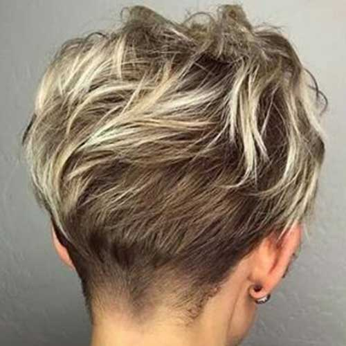 Pixie-Cut-Back-View 20 Layered Short Haircuts for Women