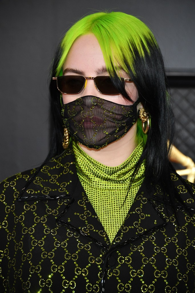 Roots-Colored-Neon-Green-Aesthetic Hair Trends 2020 – 30 Hairstyles to Glam Up Your Look