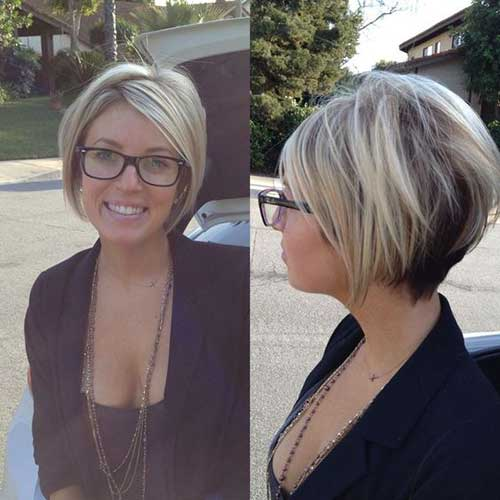 Short-A-Line-Bob Best Short Layered Haircuts for Women