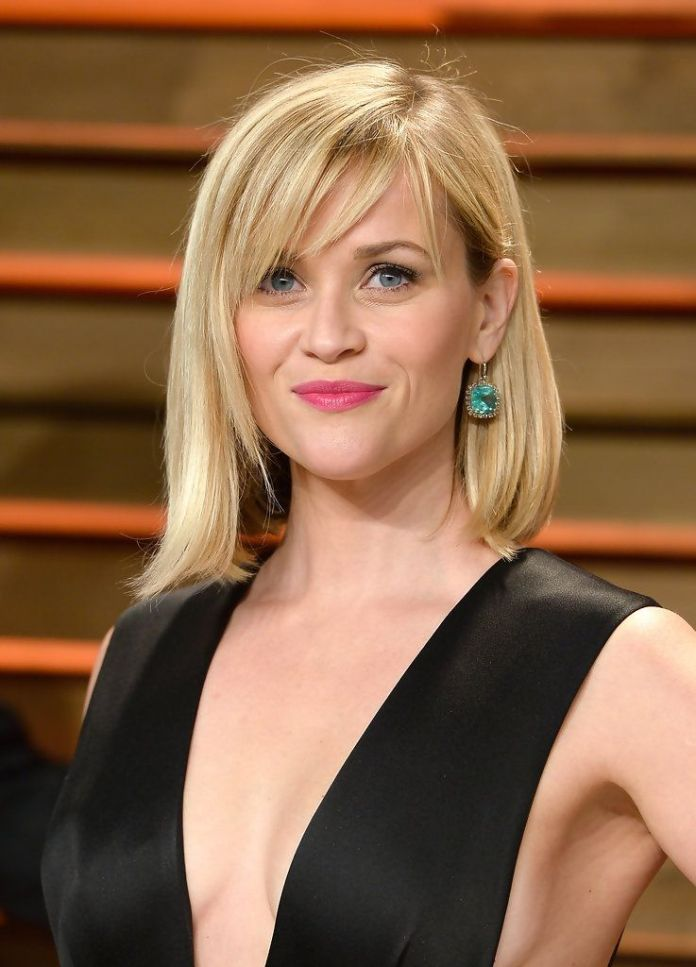 Short-Blonde-Hair-with-Choppy-Bangs How to Choose the Best Haircut for Your Face Shape