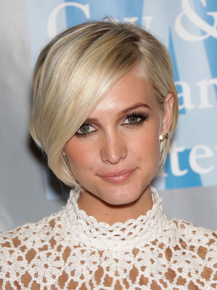 Short-Bob-with-Deep-Side-Part How to Choose the Best Haircut for Your Face Shape