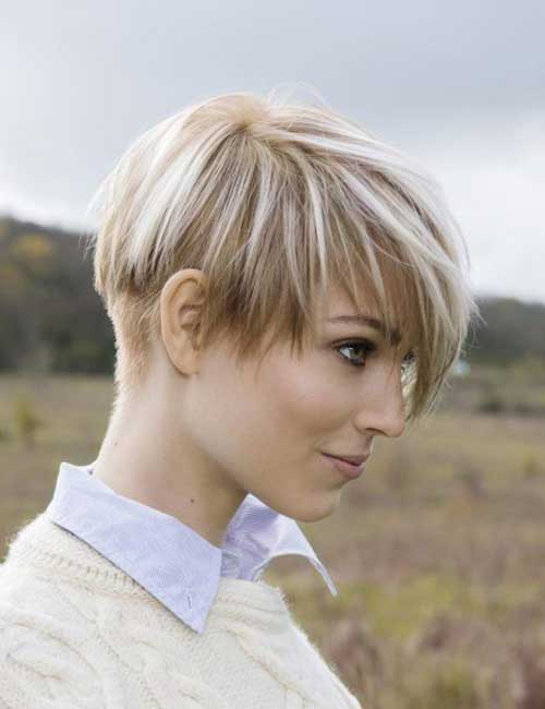 Short-Pixie-Buzzed-Nape 20 Layered Short Haircuts for Women