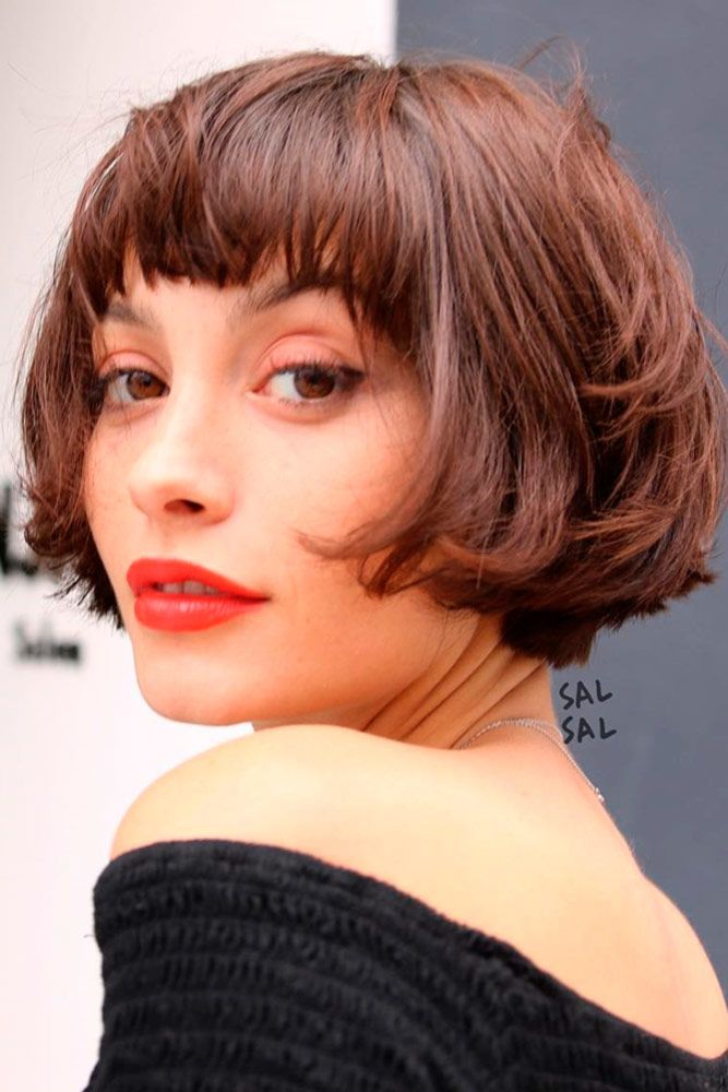 Short-and-Messy-Bob-Cut 20 Short Layered Hairstyles to Look Beautiful