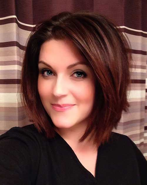 Thick-Bob Best Short Layered Haircuts for Women