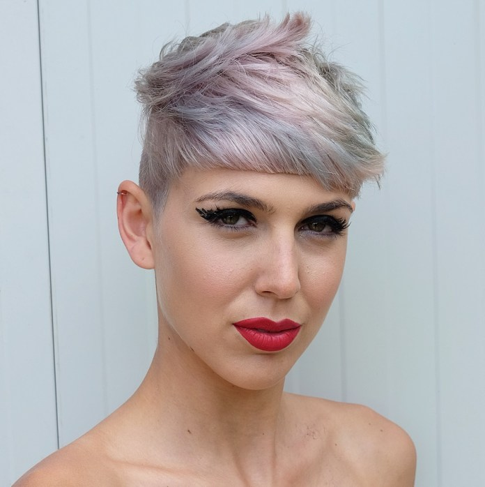 bold-undercut 12 Chic Hairstyles For Women With Long Faces