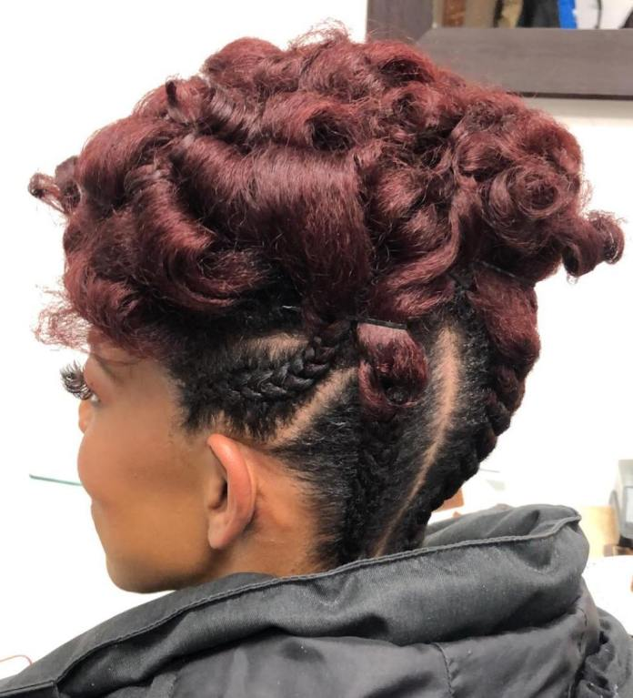 cornrow-style 10 On-trend braided hairstyles for short hair