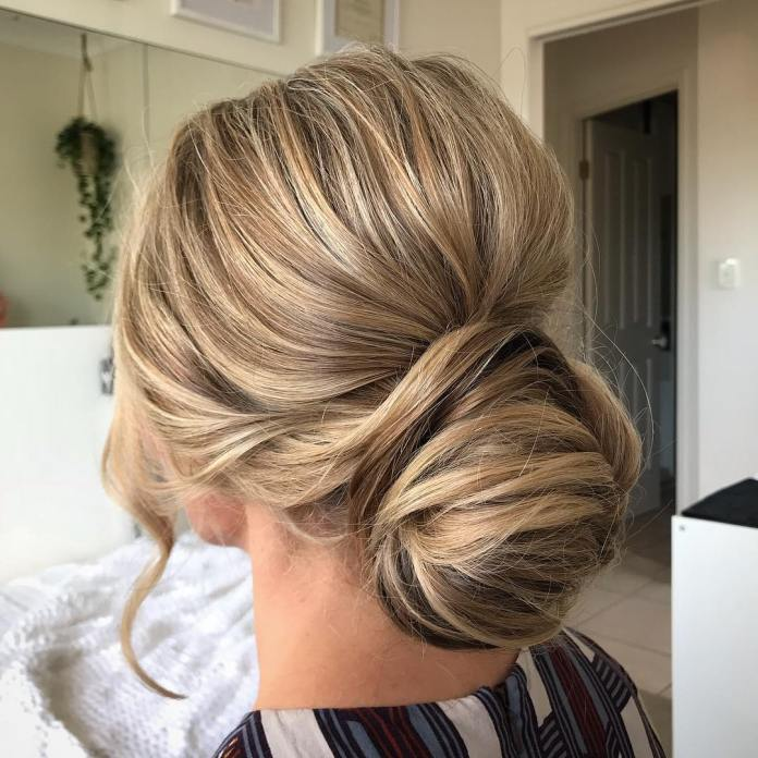 textured-'dos 20 Eye-catching Updo Hairstyles To Make Your Day