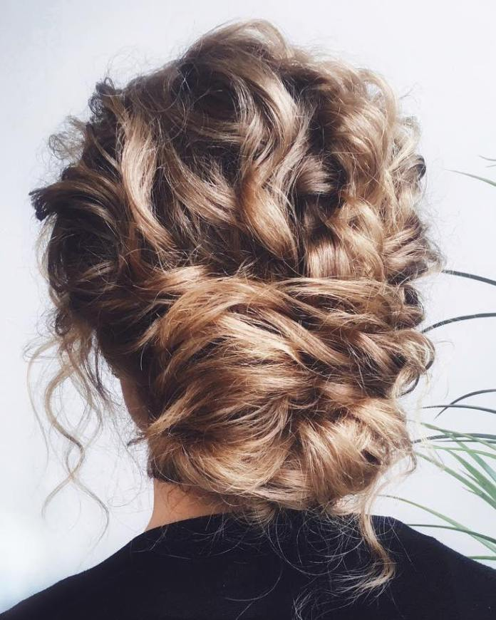 textured-updos 20 Eye-catching Updo Hairstyles To Make Your Day