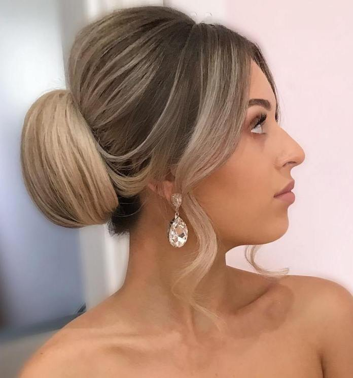 vintage-updo 20 Eye-catching Updo Hairstyles To Make Your Day
