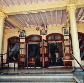 Entrance of Jamshedji's Bungalow