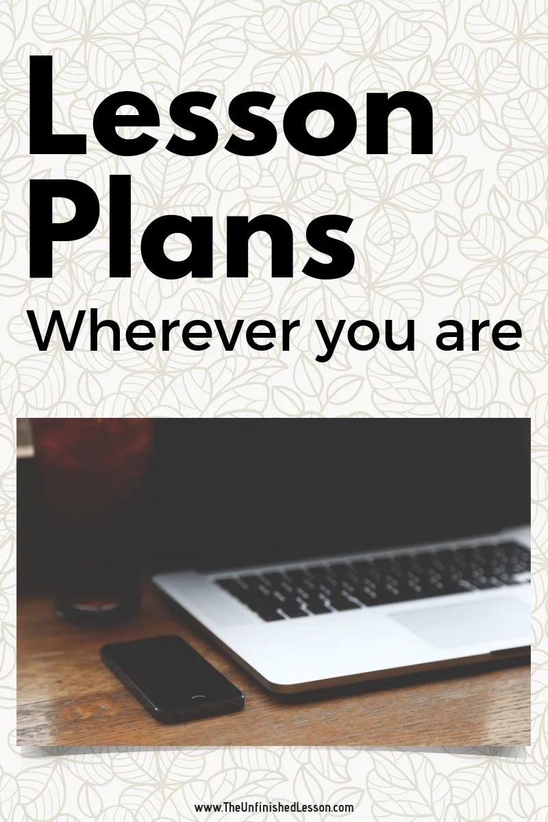 mobile lesson plans