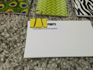 Points Card