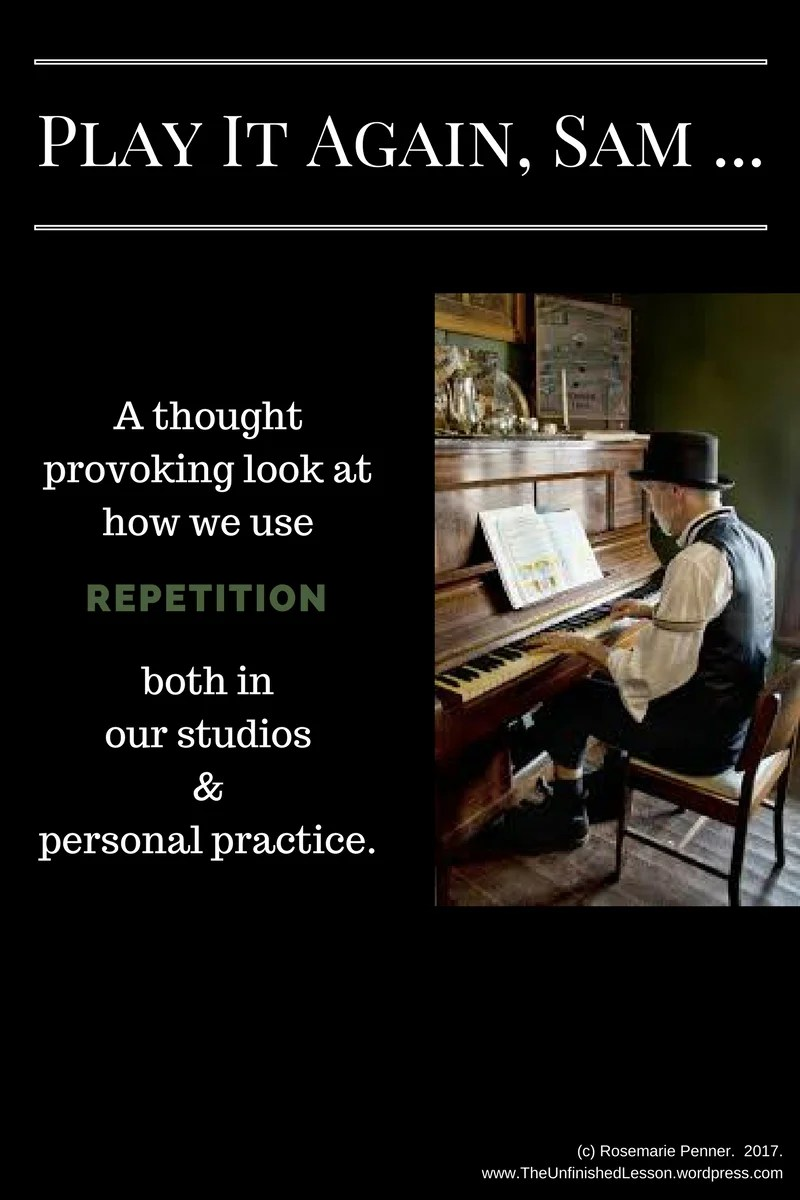 Repetition in Practice