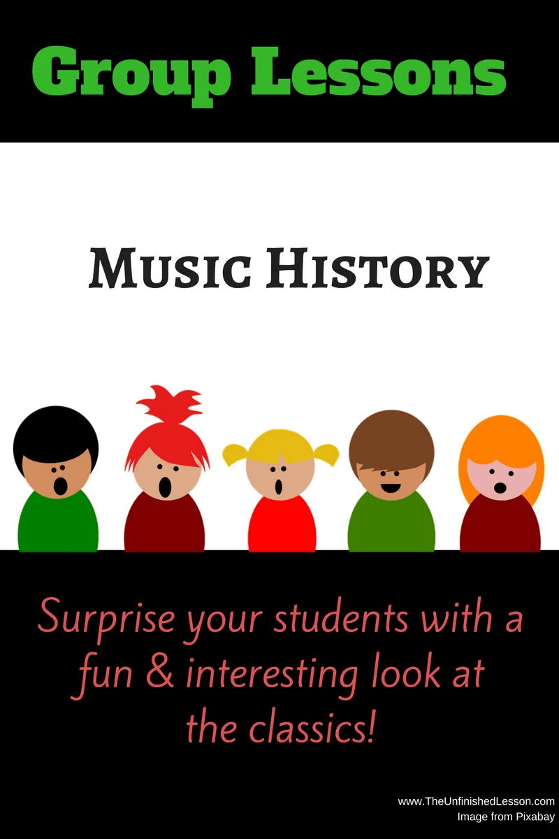 Music History Group Lessons