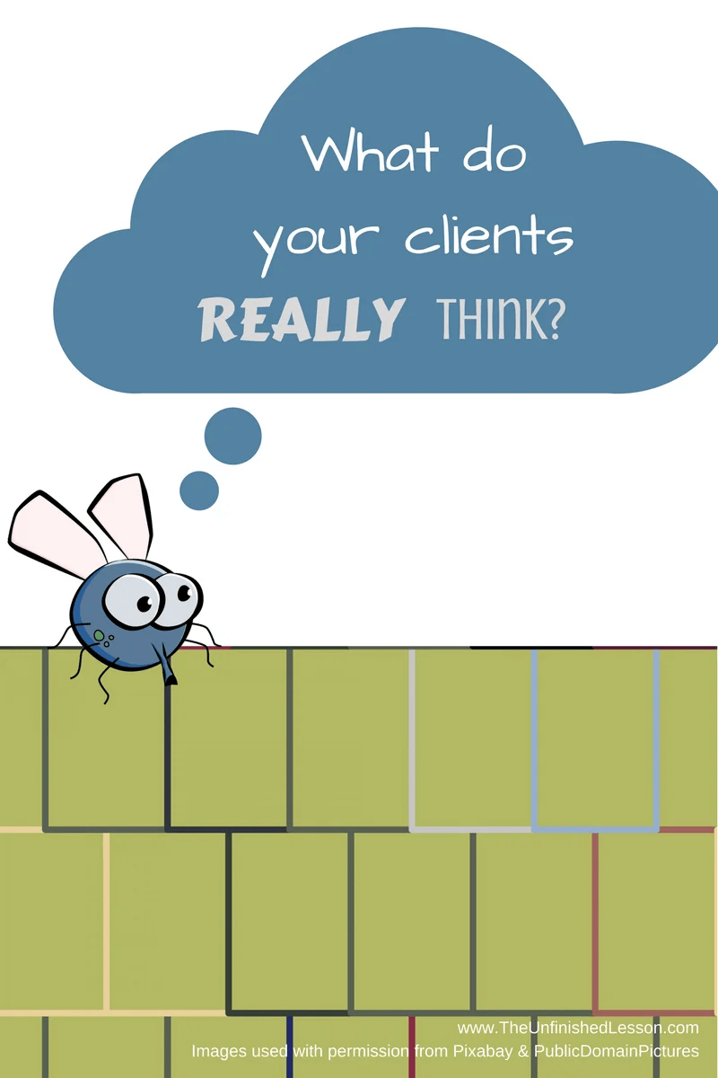 What do your clients really think?