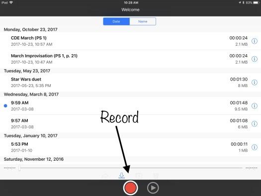 You Record screenshots