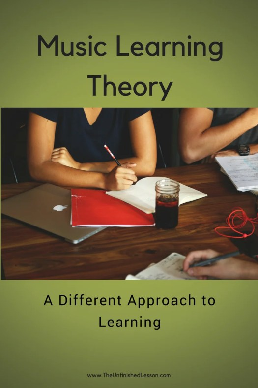 Music Learning Theory - A Different Approach
